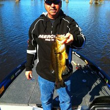 A 4 pounder on Same Thing creature Mike Clark