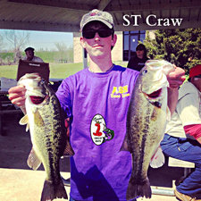 2 bass Dustin Anders ST Craw