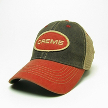 NEW Creme Mesh-Back Logo Hats