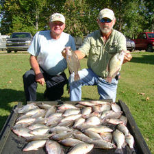 Bill & Harry Lake Weiss, 09/08  Lit'l Fishie 1/24