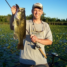 Dave Raymond 5.5 lb on FishFrog