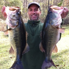 John Pitre, Louisiana, 7.75 & 8 lb caught on lit'l