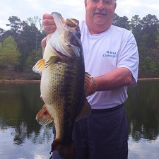 A 10.68 Keith Delaney ST Creature Toledo Bend
